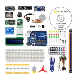 Kit Arduino UNO compatible...