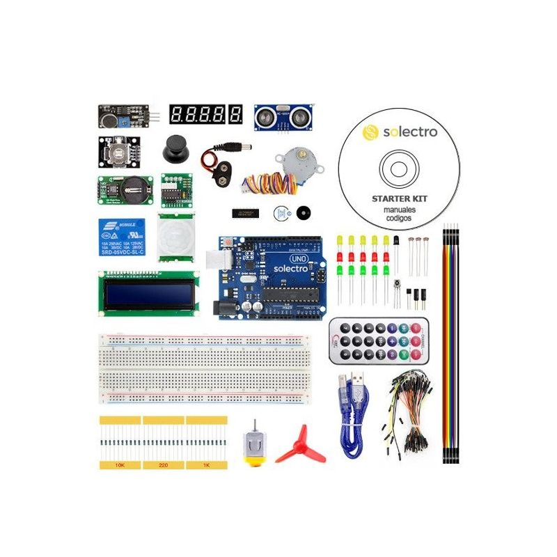 Starter Kit Medium UNO R3 Arduino compatible