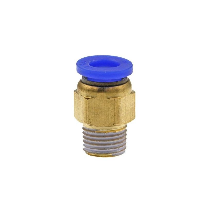 PC6-01 Pneumatic connector for PTFE tube quick coupler