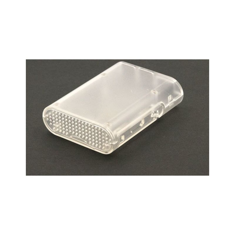 Transparent housing for Raspberry Pi 2, Pi3 Model B, B+