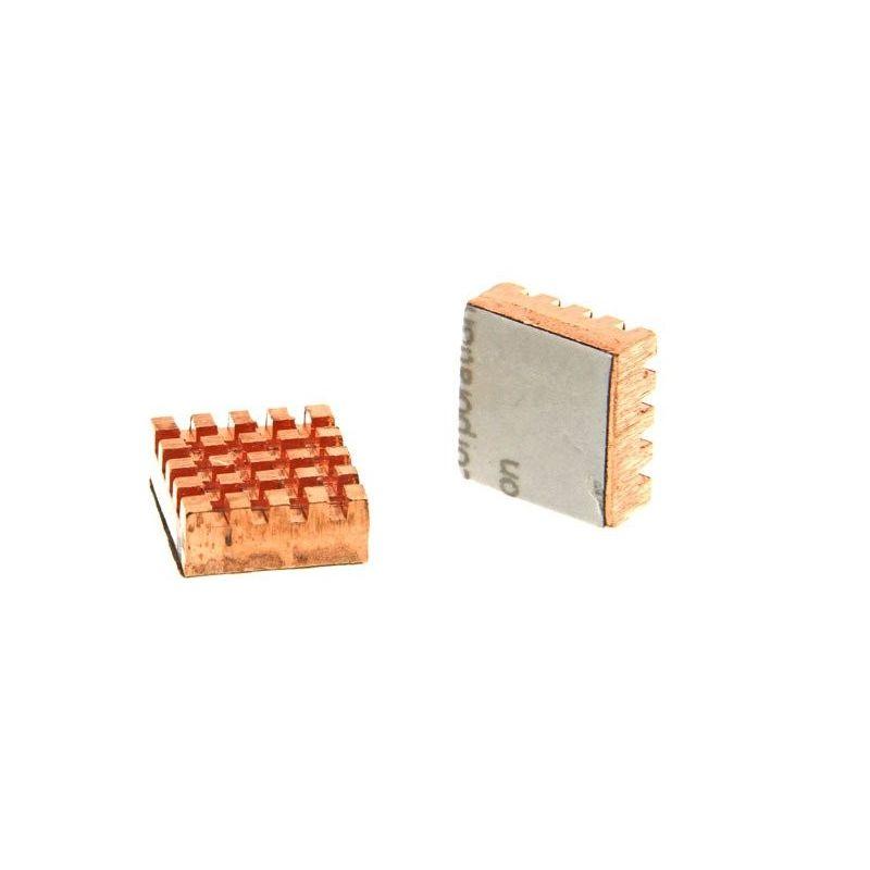 Disipador Adhesivo de Cobre Raspberry Pi