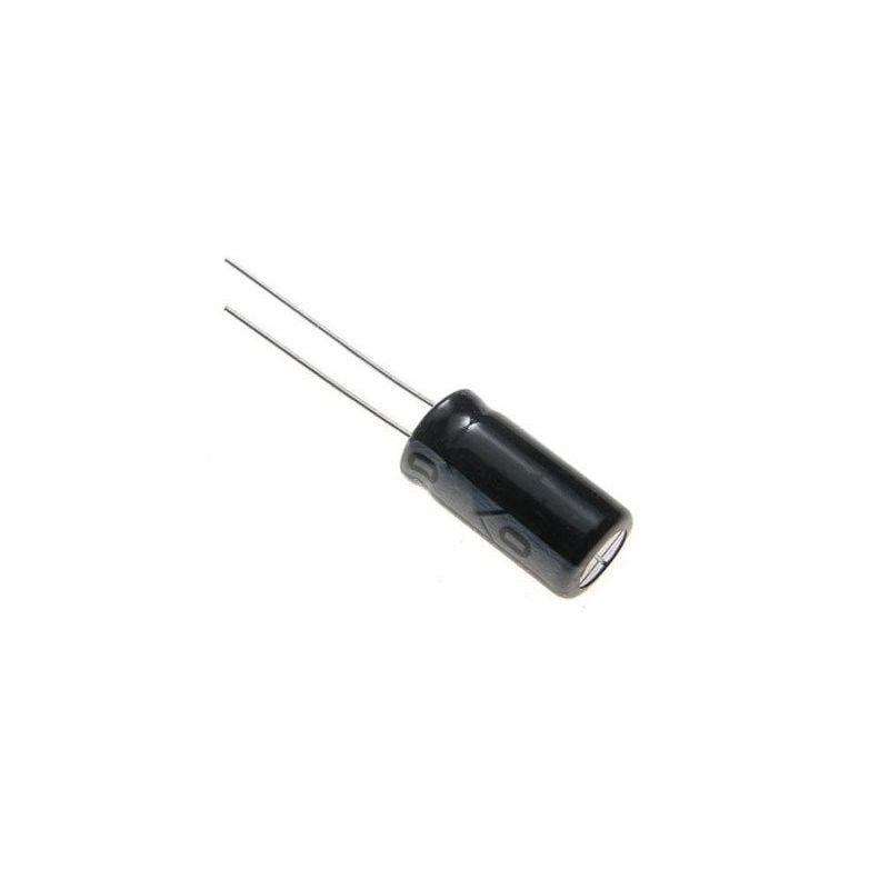 Capacitor eletrolítico 100 uF 25V 105oC para Arduino