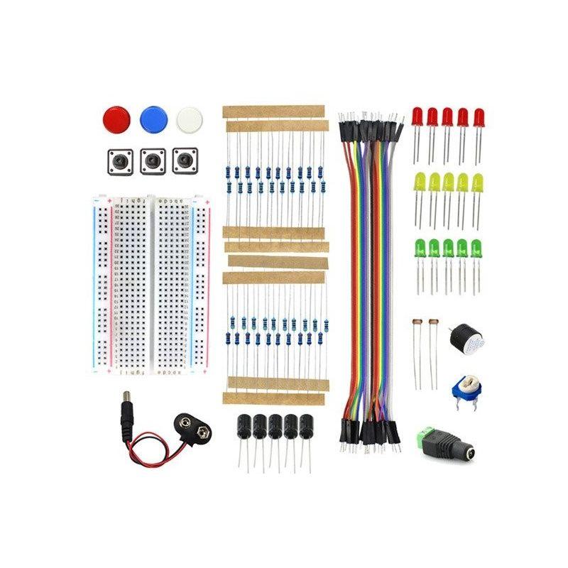 Kit de partida compatível com Arduino e Raspberry Pi