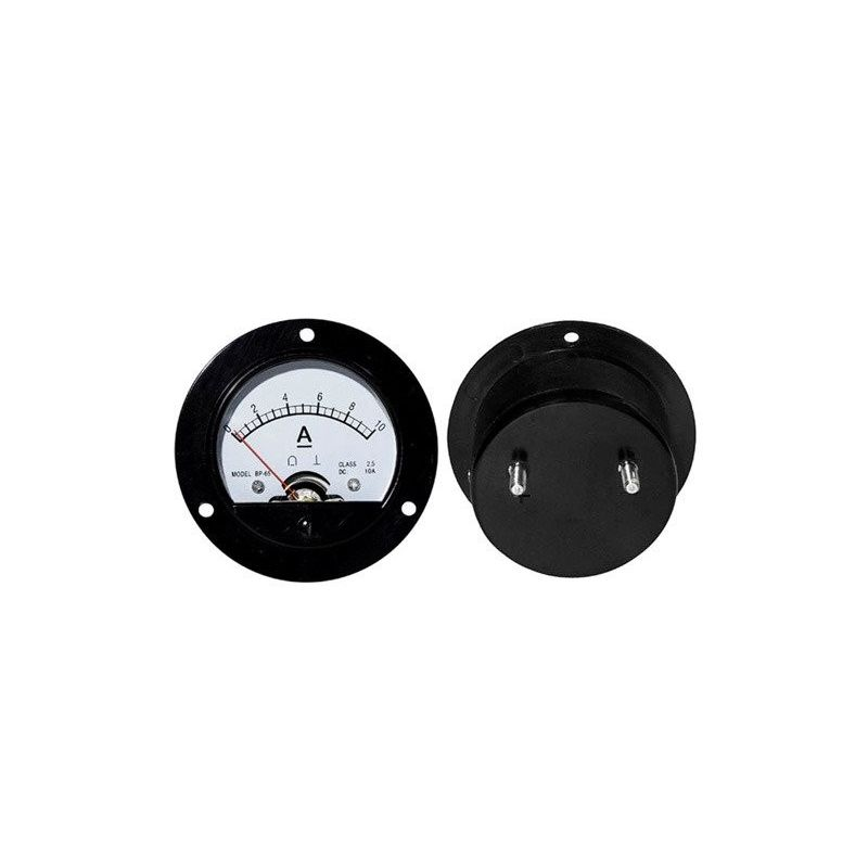 DC 10A Analog Panel Ammeter 0 to 10A
