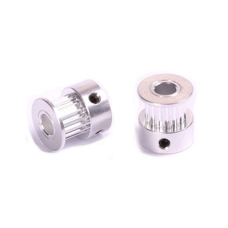 Polea GT2 16 Dientes 6mm Aluminio Pulley Impresora 3D Reprap