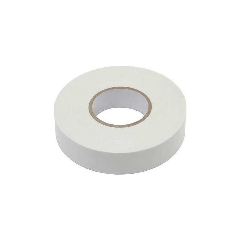 Fita isolante branca de Pvc 10m x 15mm x 0,13mm