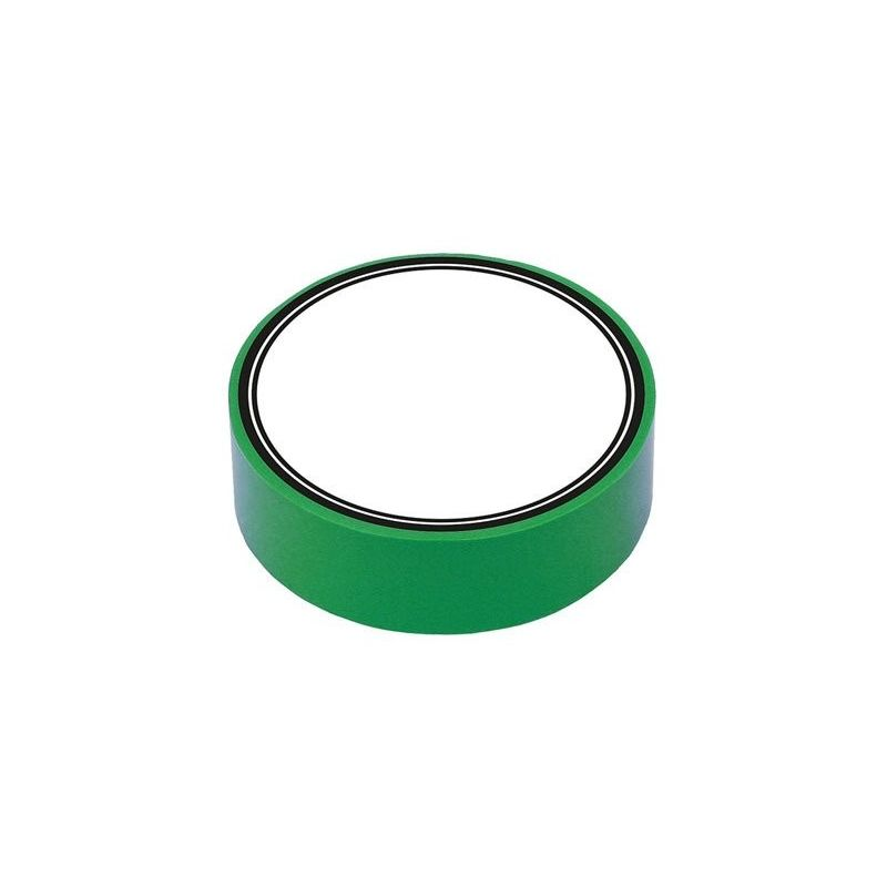 Fita isolante de PVC verde 10m x 15mm x 0,13mm