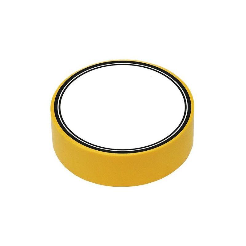 Fita isolante de PVC amarelo 10m x 15mm x 0,13mm