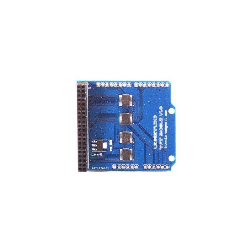 """Shield TFT LCD 2.4"""" ADAPTADOR UNO R3 SD"""