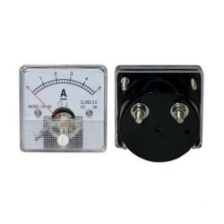 DC 5A Analog Panel Ammeter