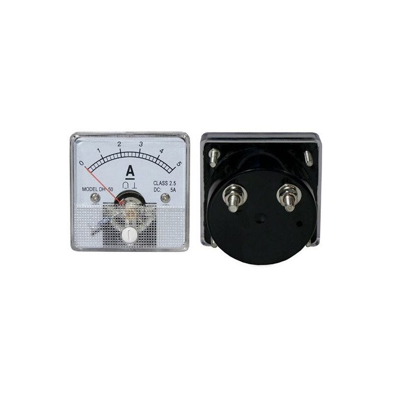 Amperímetro Analógico 5Acc