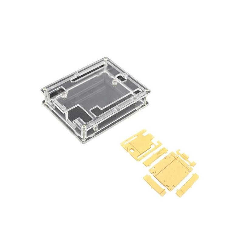 Caixa de Acrílico Transparente para Arduino Uno R3