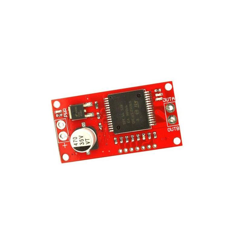 Mini Controlador VNH2SP30 Motor PAP (passo a passo) 30A