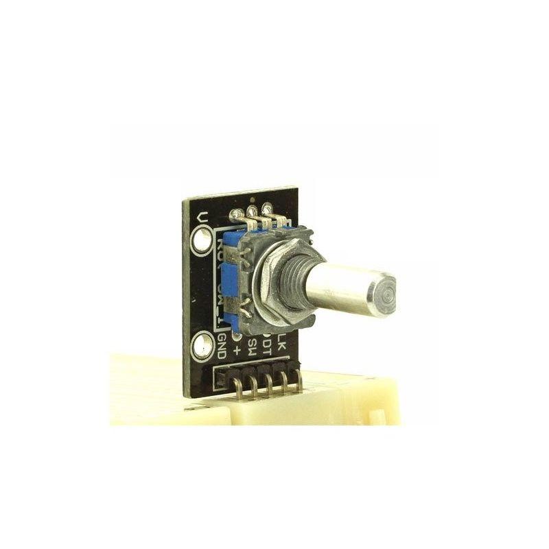 Codificador Rotativo con Switch Eje Pulsador
