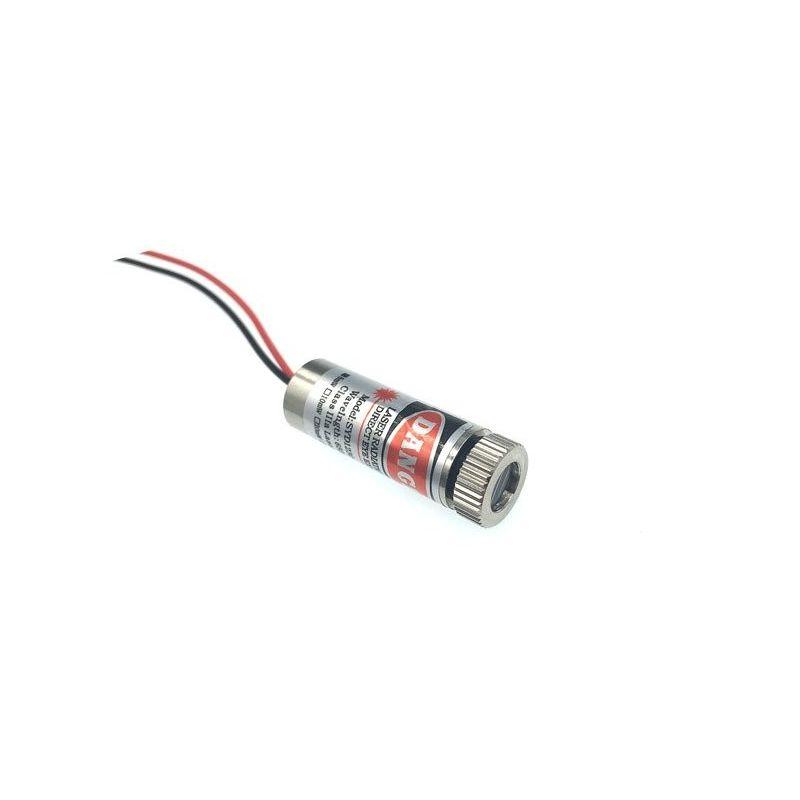 Módulo laser de linha vermelha de 650nm 5mW Cabeça ajustável 5V