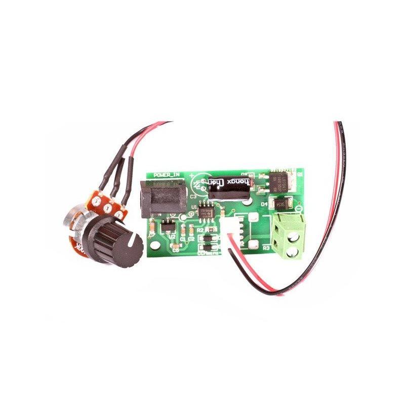 Regulador de velocidad para motor CC (PWM) 6V-28VDC 3A 100W