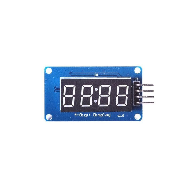 Módulo de exibição digital TM1637 4 dígitos