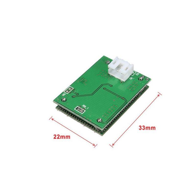 Sensor de movimento Doppler Radar 5.8GHz