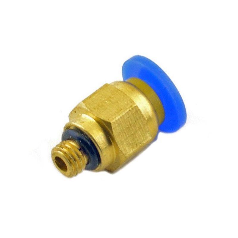 PC4-M5 conector neumático acoplador PTFE