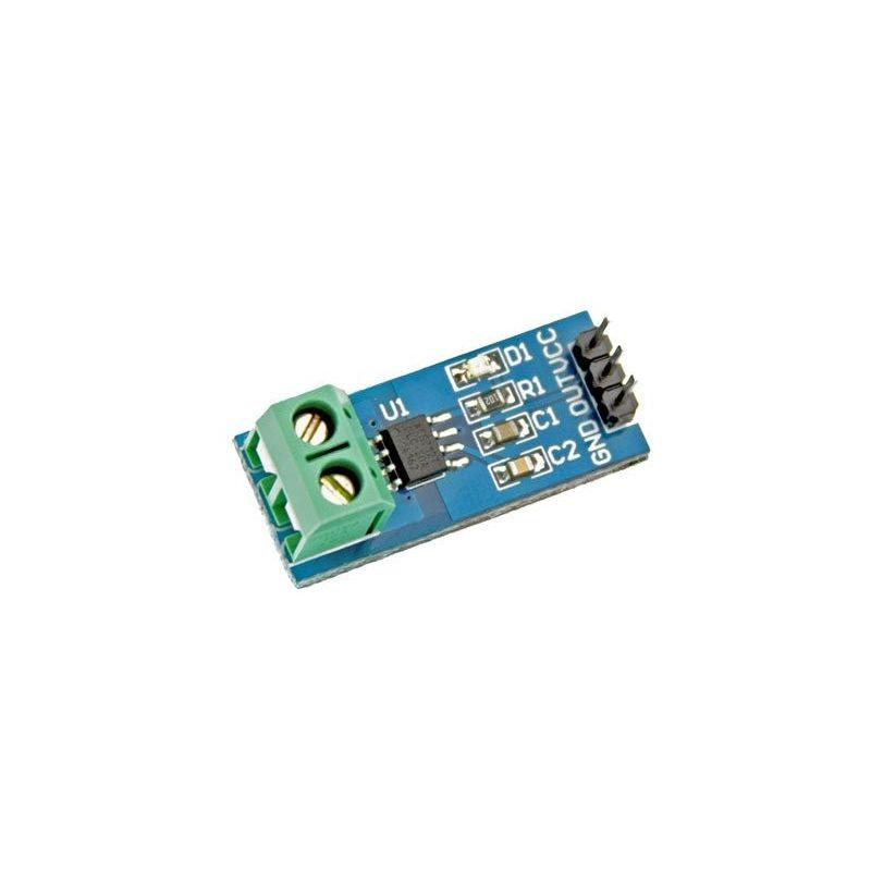 Sensor de Corriente ACS712 AC/DC 30A Intensidad Hall Amperímetro
