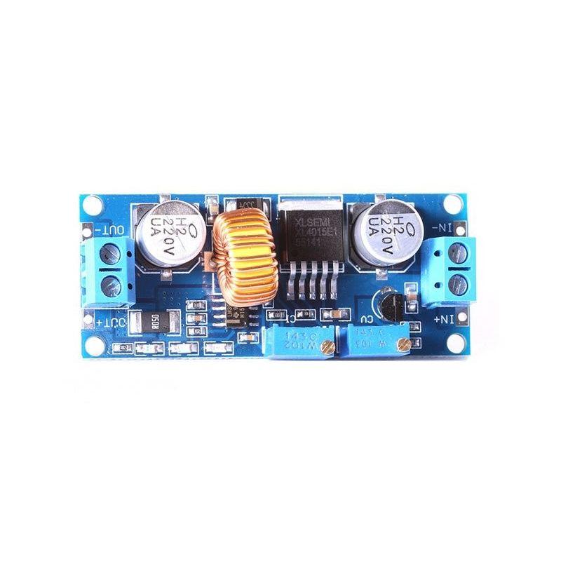 XL4015 DC para DC Step-down Converter de 4-38v para 1.25-36v 5A Regulador de Tensão