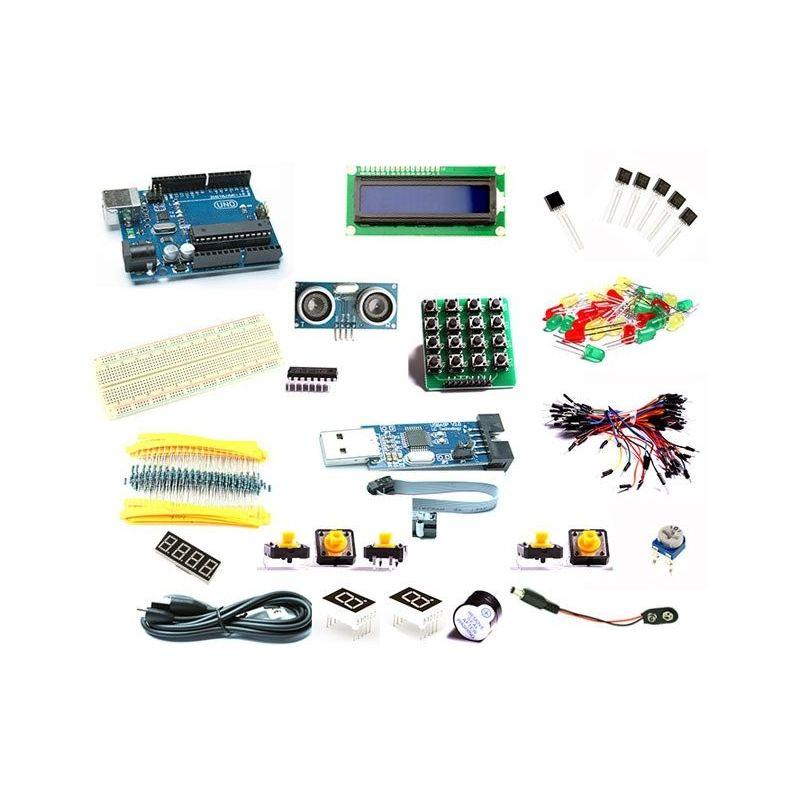 Kit Arduino iniciação inicial compatível do UNO