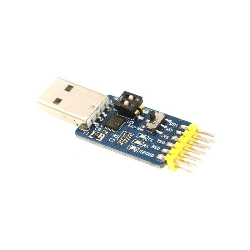 CP2102 Conversor USB 2.0 para RS232 RS485 Série TTL UART