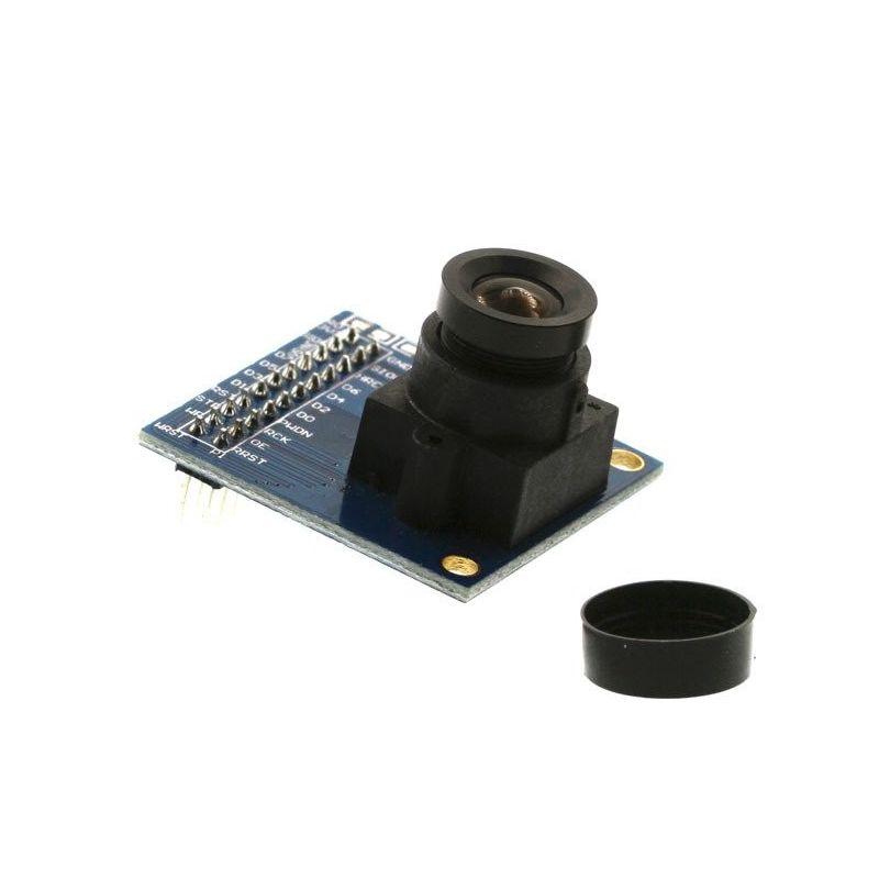 Câmera VGA 640x480 FIFO AL422 Buffer OV7670 30fps