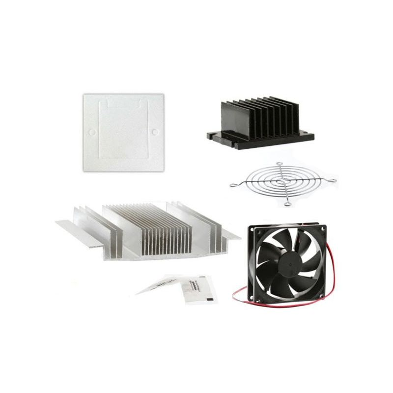 DIY Paste Dissipative Fan Kit for Ceramic Peltier Cell TEC1-12706