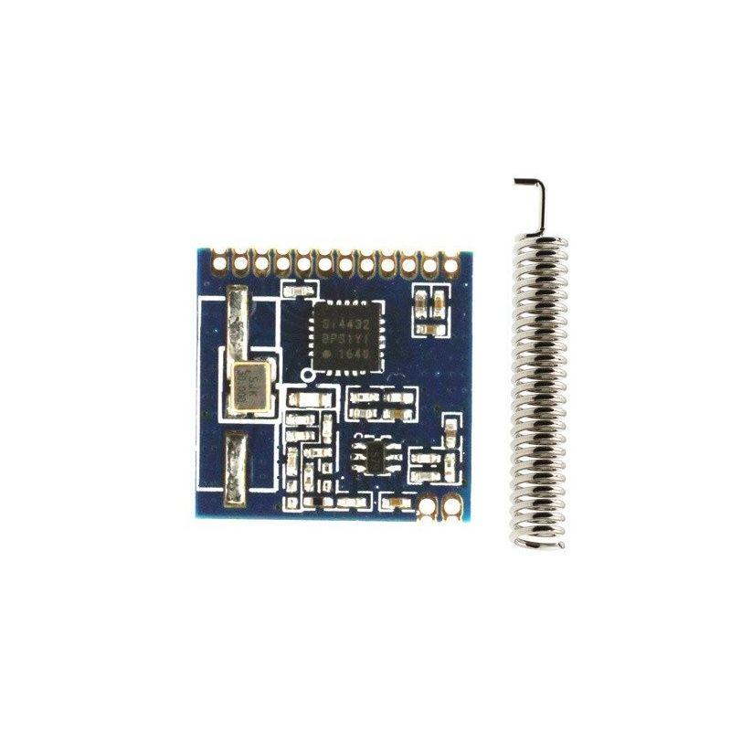 Transceiver 1km SI4432 433MHz Wireless Transmitter Telemetry