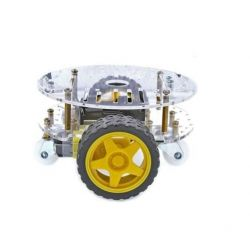 2WD Round Robot Chassis...