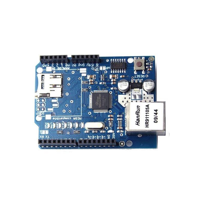 Módulo W5100 Ethernet Arduino Shield Web Server