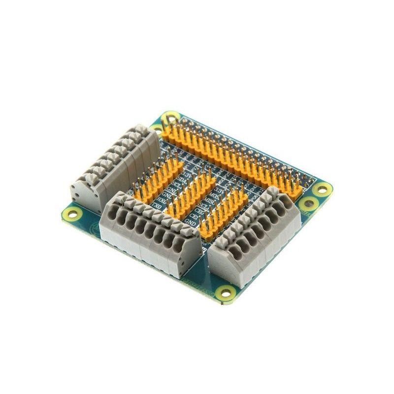 Placa de expansão GPIO Shield 40 Pin raspberry pi séries B e B+