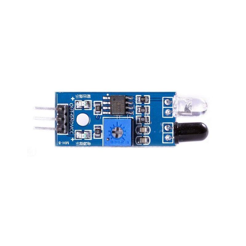 Detector de sensores de módulo Infrared Obstáculos Carro Robô