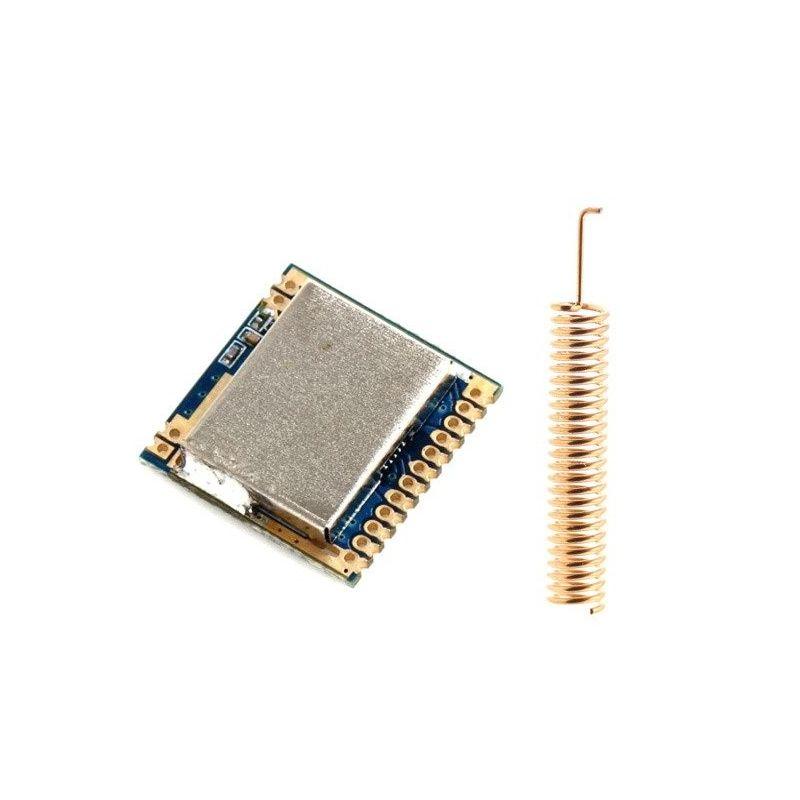 Módulo Radiofrecuencia 2km SI4463 433MHz RF Telemetría Arduino