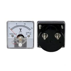 Voltmeter analógico 15Vdc