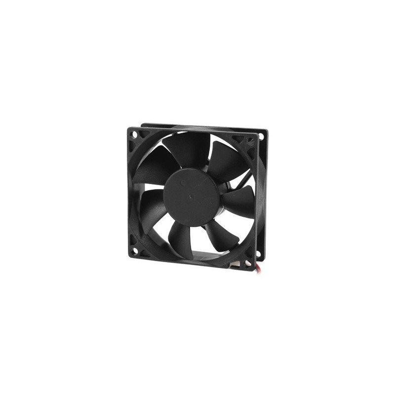 Black Fan 12V PC CPU 92mm x 92mm x 25mm