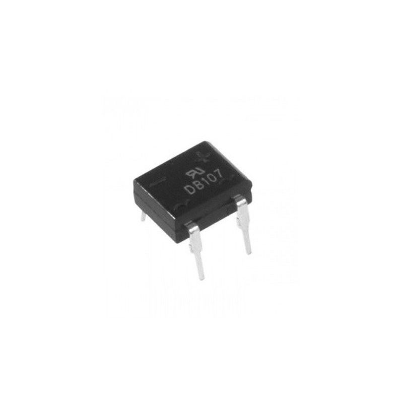 Bridge Rectifier DB107 1A / 1000V DIP4