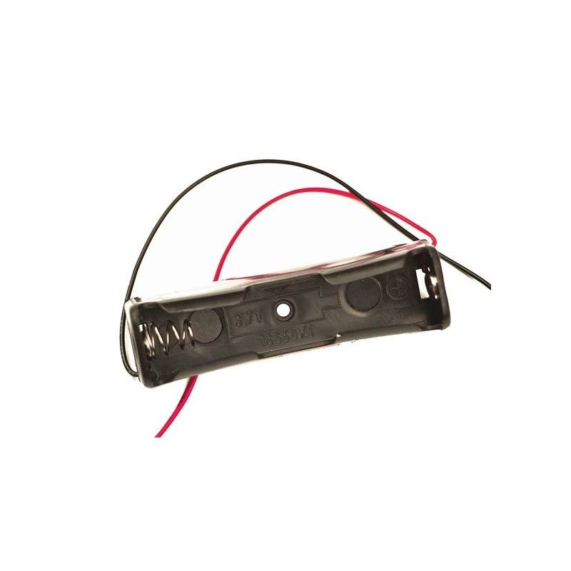 Battery holder 1x 18650 3.7V Power cable
