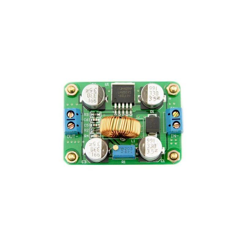 LM2587 DC para DC Boost Step-up Converter de 4,5-35V para 3.5-32V 5A