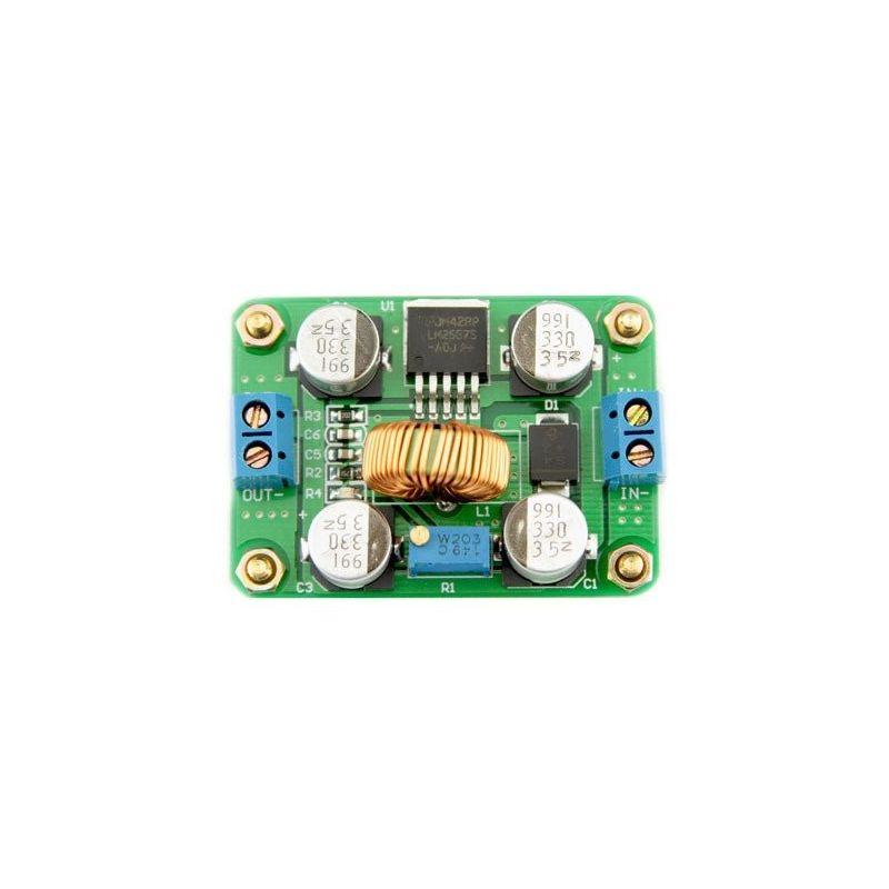Boost Adjustable Power Converter LM2587 5A DC 4.5-35V