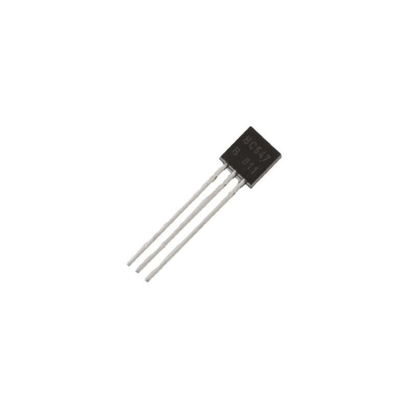 BC547B NPN 50V 100mA transistor 0.1A TO-92
