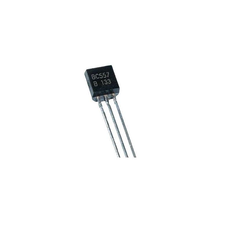BC557B 50V PNP Transistor 100mA 0.1A TO-92