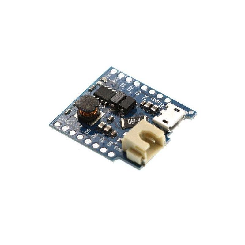 Bateria Shield Li-Po para WeMos D1 Mini ESP8266 ESP-12E WiFi