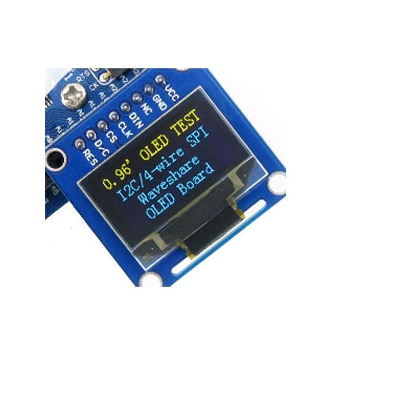 """Screen OLED 0.96"""" B 128x64 Yellow-Blue SPI/I2C"""