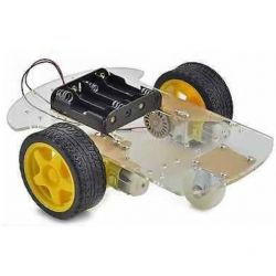 2WD Robot Smart Car Chassis 2x Wheels DIY