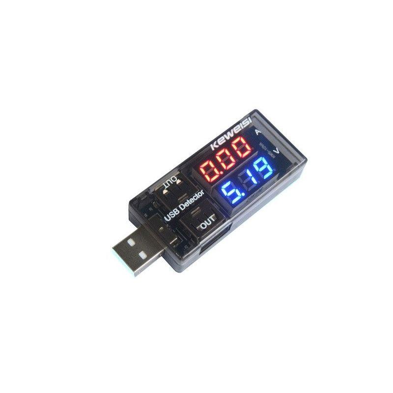 Amplificadores de tensão do testador USB
