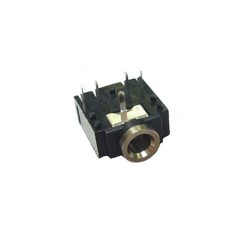 Conector feminino de tomada estéreo de 3,5 mm para suporte pcb de fones de ouvido STEREO