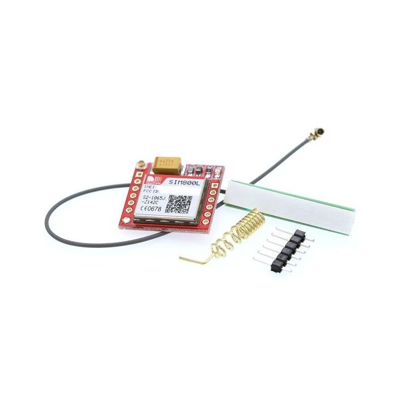 Módulo GSM SIM800L Arduino gprs sim board quadband