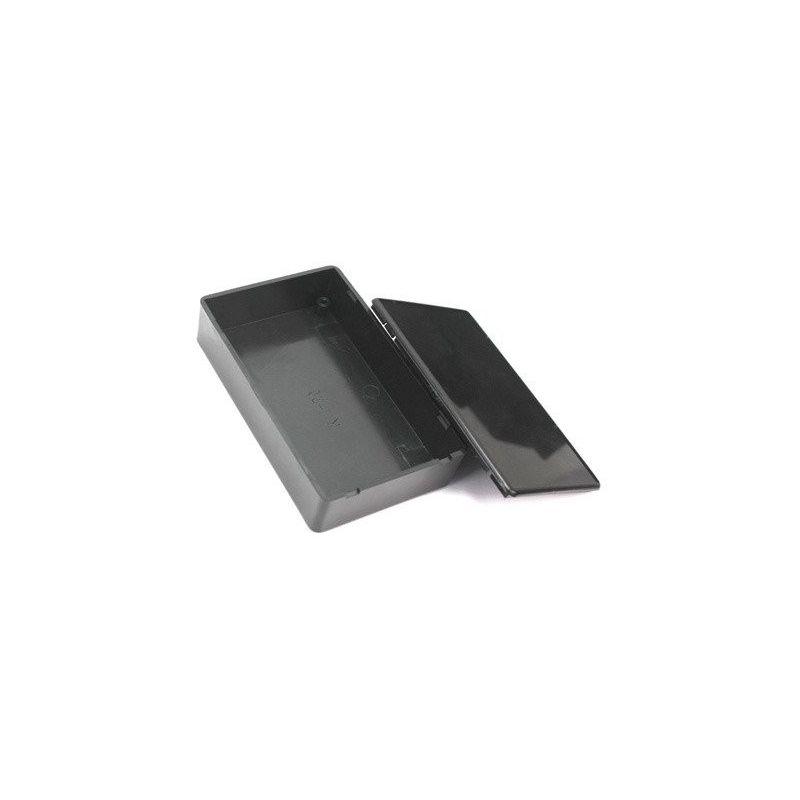 Caja Plastico Prototipo ABS Negro 100x60x25 mm